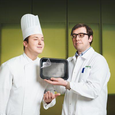 Aroma+ e confezionamento <br> Profumo più intenso e duraturo al cibo